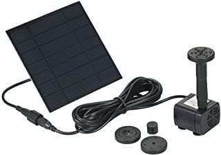 Goolsky Solar Powered Water Pump Polycrystalline Silicon Solar Fountain Water Pump Cycle