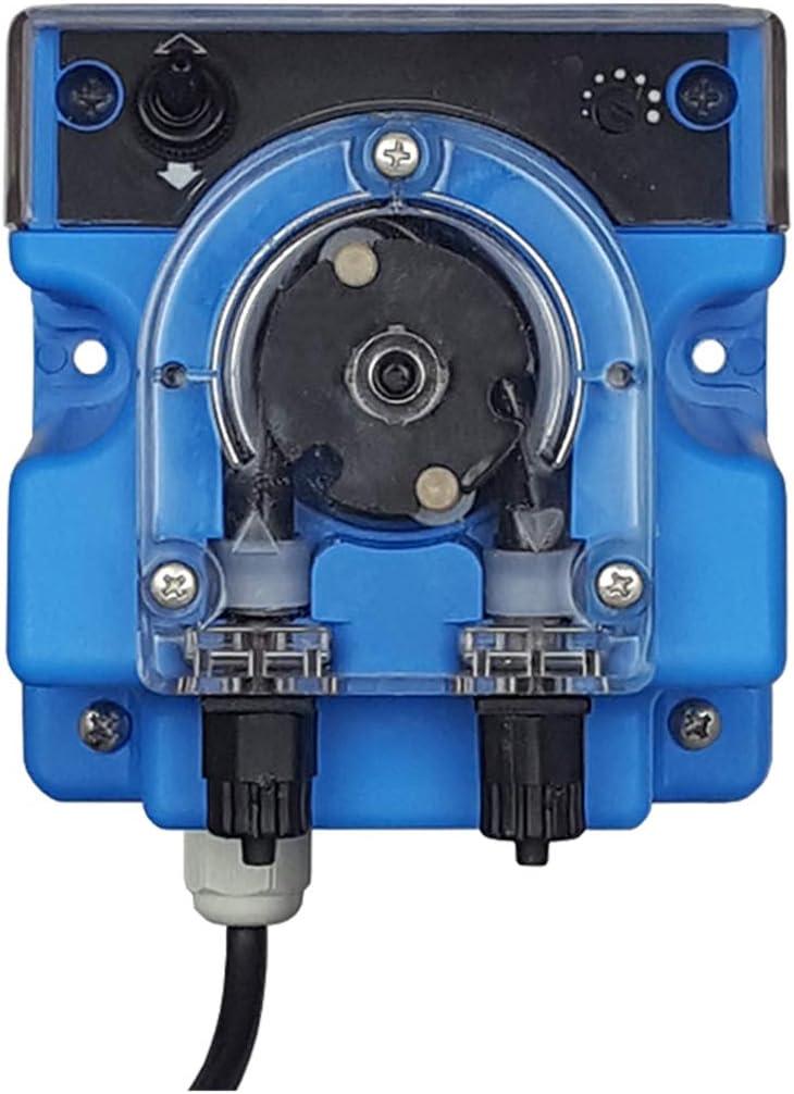Super Net Cali Dosificador Automatico Hipoclorito Piscina PH. Bomba Peristáltica con Tubo Resistente a Cloro y Productos ácidos.