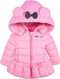 61b0a016faecc Ankoee Mignon Bébé Fille Manteau Veste Hiver Cape Blousons Vêtements Chauds  Enfants