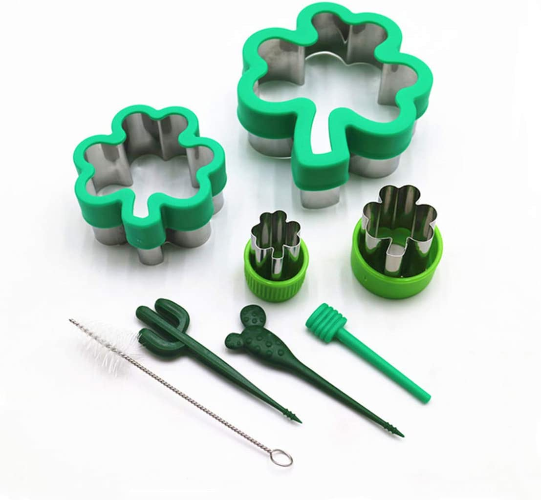Cookie Cutters shop Set Three Leaf Free shipping / New Protection Shaped Clover Stai Hand