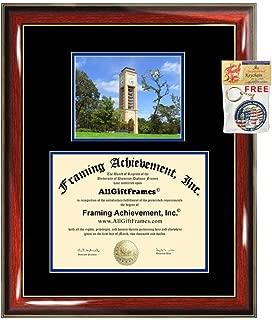 University of Texas Tyler Diploma Frame Campus Picture Graduation Gift UT Tyler Degree Frame College Plaque Holder Case Photo Certificate Framing Case Graduate