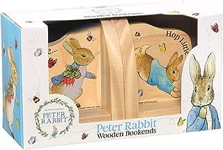 Beatrix Potter Peter Rabbit Wooden Book Ends