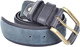 Belt in Leather Pekin Dark Grey