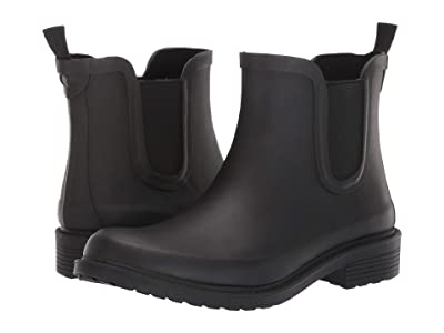 Madewell The Chelsea Rain Boots (True Black) Women
