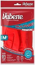 Luva Multiuso Limp.Pesada Premium Vermelha Tam.M, Vabene