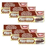 Plus White Coffee Drinkers' Toothpaste (Pack of 6)
