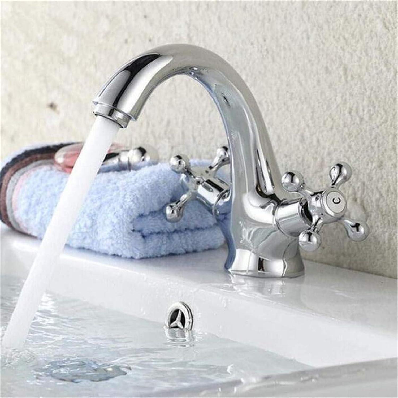 Wasserhahn Chrom Zeitgenssische Küchenarmatur Wasserhahn Waschbecken Mischer Deck Montieren Griffe Becken Wasserhahn Waschbecken Mischbatterie Heies Und Kaltes Wasser