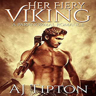 Her Fiery Viking: A Paranormal Romance audiobook cover art