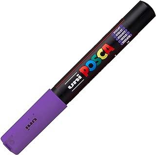 Uni Posca Extra Fine Marker, Purple (PC1M.12)