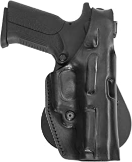 Holster for Steyr L9-A1 - Leather Paddle Holster w Thumb Break - Old-World Craftsmanship (184)
