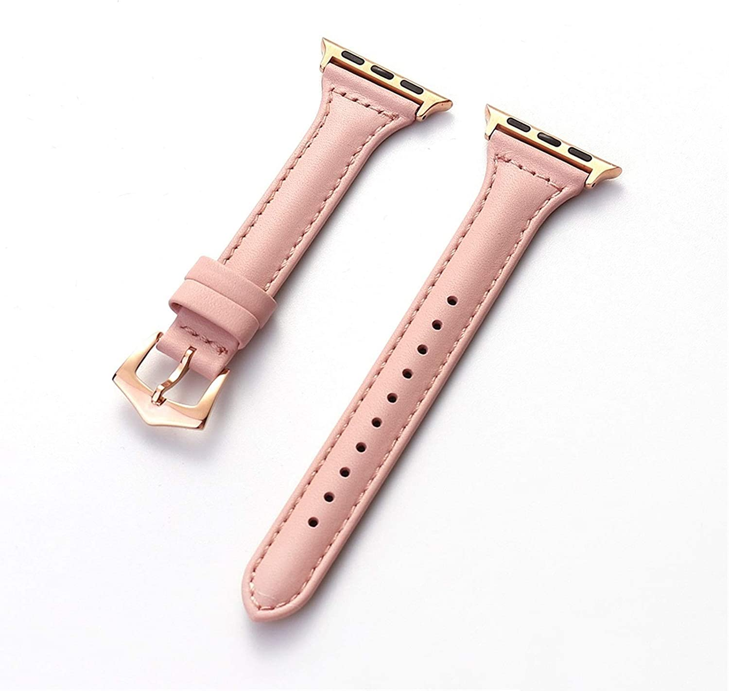 ZAALFC Houston Mall Genuine Leather Strap for Cheap sale Apple 44mm Watch 40mm Band 42mm