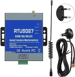 Woyisisi Monitor de Temperatura Inal¨¢mbrico gsm Anal¨®gico de Alerta Transductor Controlador de Alarma de Monitoreo de Estado de Energ¨ªa 100-240V(01)