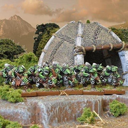Goblin Spitters Regiment (20) by Kings of War - Goblins 28mm