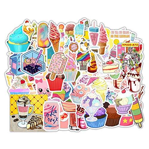 Chutoral 70 stks Mooie Ins Roze Meisje Zomer Ijs Koud Drink Stickers Laptop Auto Fiets Koffer Computer Water Fles Mobiele Telefoon Stickers Stickers Stickers MC