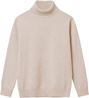 9e41156ebc Girl Sweaters Pullover Turtleneck Knitted Long Sleeve Solid Color Kids  Winter Tops Clothes
