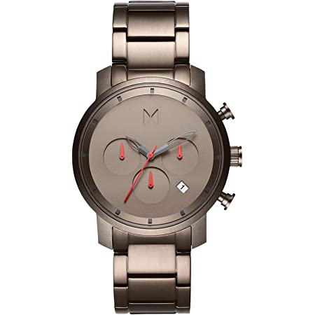 MVMT Chrono Mens Watch | Leather Band, Analog Watch, Chronograph with Date