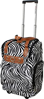 """Dejuno Lightweight 20"""" Easy Travel Rolling Carry-on Luggage"""