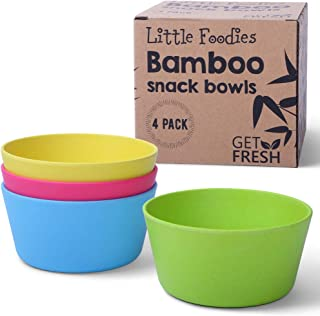 Kids Bamboo dîner petit déjeuner Eco plat set 5 pcs plaque bol mug cuillère fourchette Bee