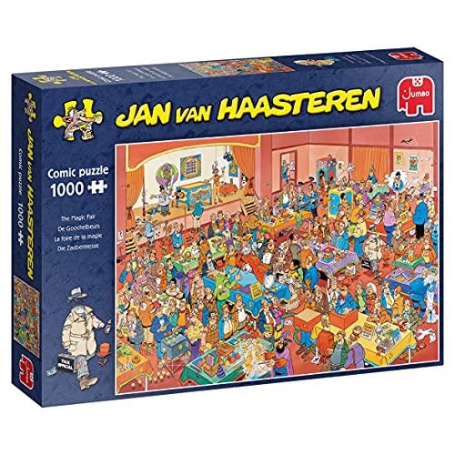 Jan Van Haasteren The Magic Fair 1000 pcs Puzzle - Rompecabezas (Puzzle Rompecabezas, Comics, Adultos, Niño/niña, 12 año(s), Interior)