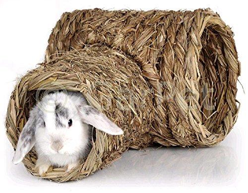 Gras-Tunnel für Meerschweinchen und Kaninchen 40 x 30 x 25 cm