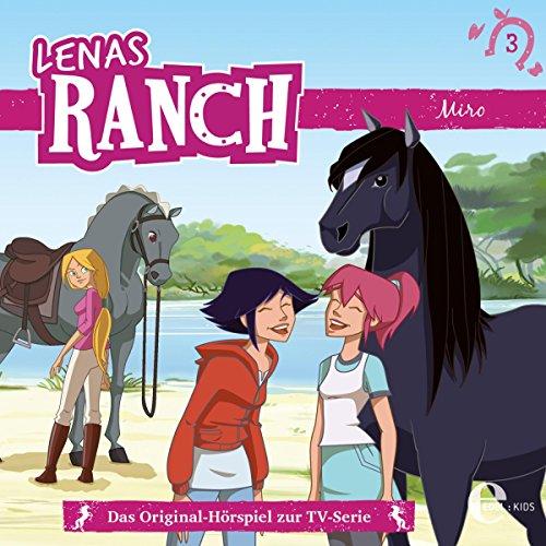 Miro     Lenas Ranch 3              Autor:                                                                                                                                 Chris Toe                               Sprecher:                                                                                                                                 Christine Pappert,                                                                                        Hannes Maurer,                                                                                        Julia Stoepel,                   und andere                 Spieldauer: 37 Min.     1 Bewertung     Gesamt 5,0