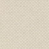 Fabulous Fabrics Halbpanama Natur, Weihnachten, 140cm