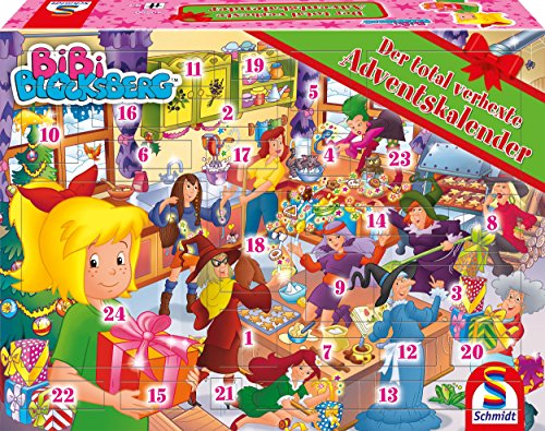 Schmidt Games 40590 Bibi Blocksberg adventskalender 2018