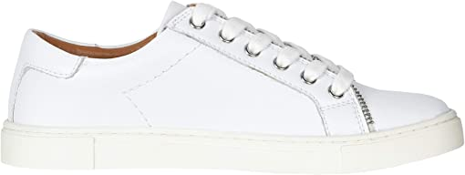 White Smooth Polished Leather