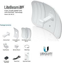 Ubiquiti LBE-M5-23 - Accesorio de Red, 5 GHz, Litebeam, 23 dBi