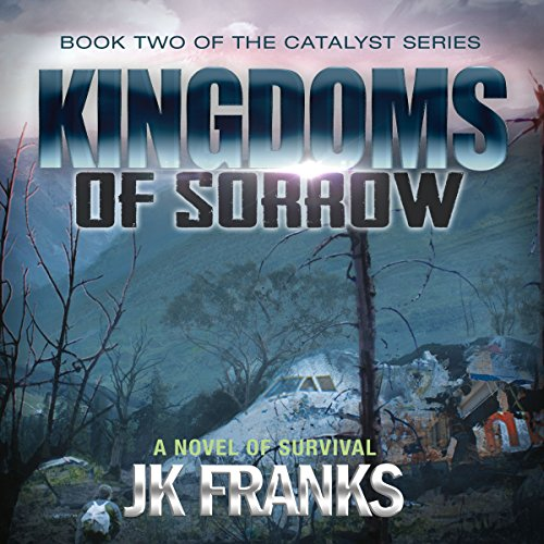 Kingdoms of Sorrow audiobook cover art