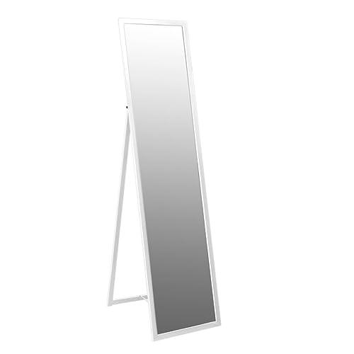 dcf6736474c Harbour Housewares Metal Framed Free Standing Full Length Mirror 1370mm -  White