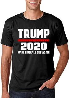 Trump 2020, Make Liberals Cry Again - Funny Novelty Political MAGA Re-Elect Donald - Men's Tshirt