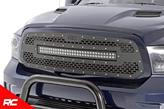 Rough Country Custom Mesh LED Grille (fits) 2013-2018 RAM Truck 1500 30