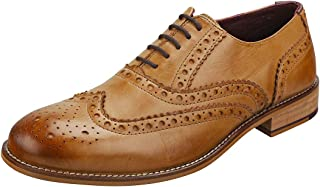 London Brogues Gatsby Brogue Hombre Zapatos Tostado