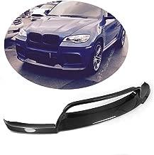 MCARCAR KIT Front Bumper Lip fits BMW X6M 2010-2014   Add-on Pure Carbon Fiber Chin Spoiler Splitter Protector