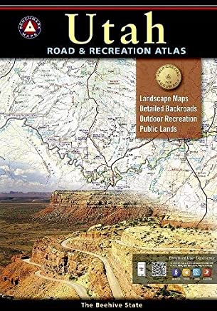 Benchmark Maps Utah Road & Recreation Atlas