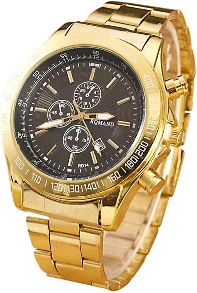 Muranba Men Stainless Steel Max Free Shipping New 85% OFF Watch Wrist Movement W Quartz Analog
