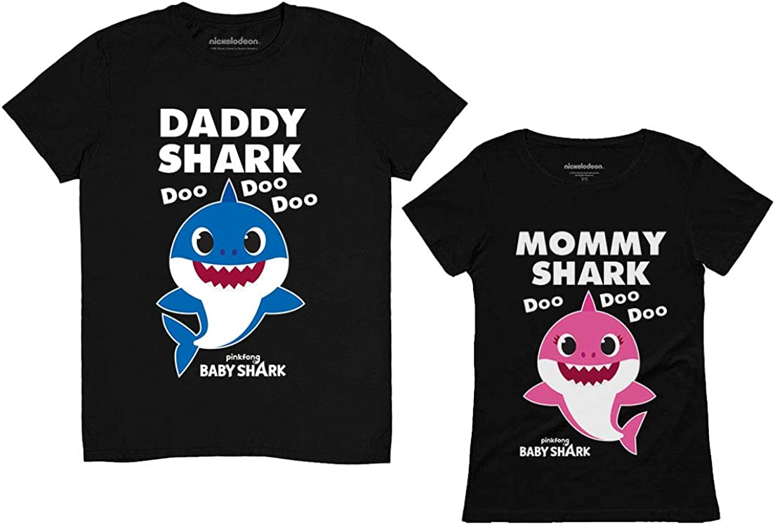 Daddy and Mommy Shark Shirts Baby Dad Gifts Beauty products Matchi Mom Bombing new work