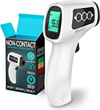 No Touch Thermometer - Infrared Thermometer Suitable for Newborn, Infant, and Toddler - Measure at 2-6 Inches Distance - Medical Tympanic Thermometer - Extreme Accuracy Detecting The Slightest Tempe