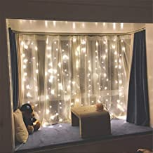 Twinkle Lights Decorations 300 LED Lights for Party, Birthday Decorations Curtain Lights Wedding Party Home Garden Bedroom...