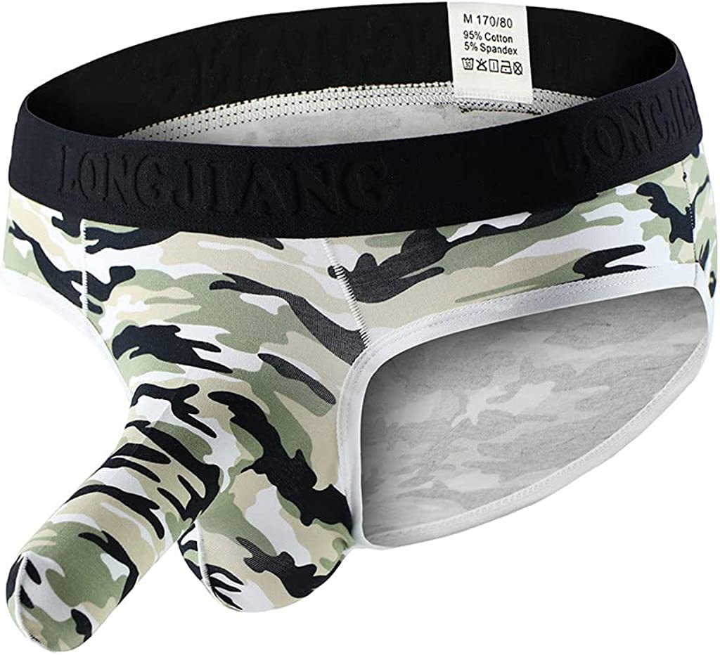 Mens Elephant Briefs Underwear Comfort Breathable Cool Dri Fit Cotton Stretch Waistband Boxer Boxers G-Strings & Thongs