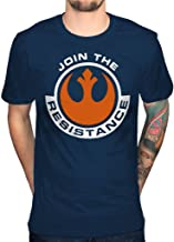 Official Star Wars The Force Awakens Join The Resistance T-Shirt