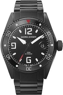 Georg Jensen - Reloj automático para hombre, fabricado en Suiza, acero inoxidable, número 3575605 Diver, 42 mm