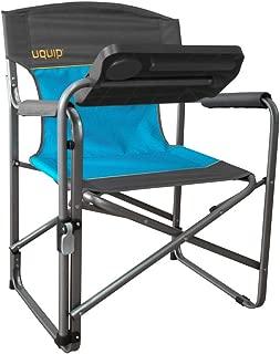 Uquip Woody 便携式折叠椅 - 蓝色/灰色
