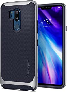 Spigen Neo Hybrid Designed for LG G7 Case/LG G7 ThinQ Case (2018) - Satin Silver