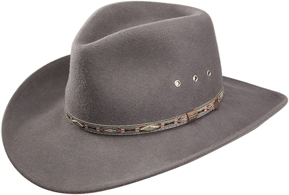 Stetson Excellence Elk Translated Horn Wool Cowboy Hat