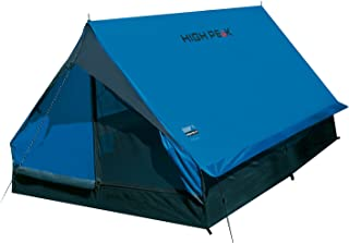 High Peak Hauszelt Minipack, Campingzelt für 2 Personen, Festivalzelt mit Wannenboden,..