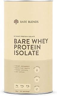 Bare Blends - 100% Bare Whey Protein Isolate Powder | NZ WPI | All Natural | non-GMO | Sugar Free | 1kg
