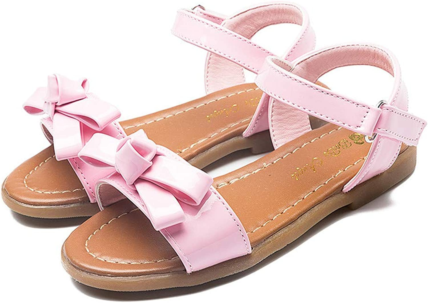 Dreamstar New Princess shoes Soft Bow Sandals Tendon Flat with Sandals