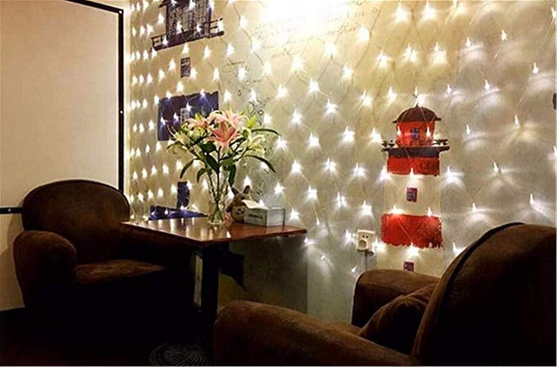 Party Outdoor-Festival Christmas Light Net führte Fairy String Mesh Net Lights für Weihnachtsbüsche Deko-wei